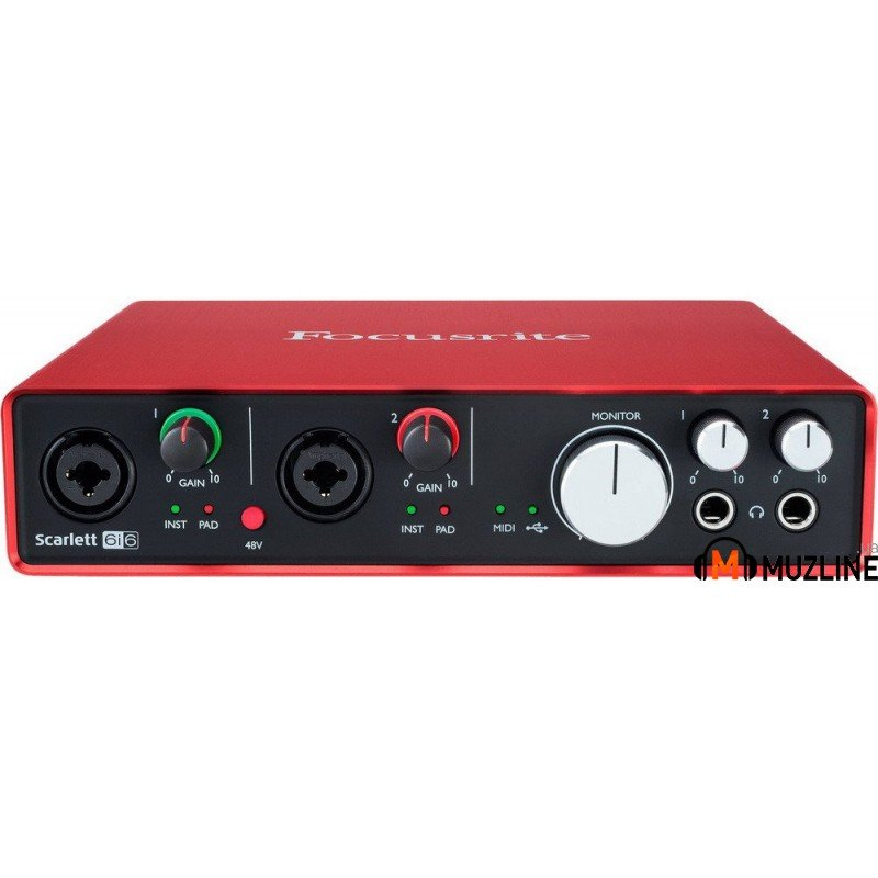 USB звуковая карта Focusrite Scarlett 6i6 New