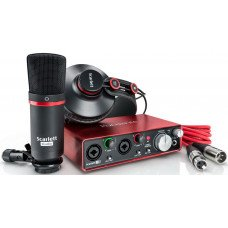 Focusrite Scarlett Solo Studio Pack New