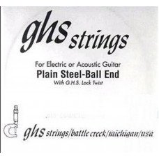 GHS Strings 011 Single Plain Ballend