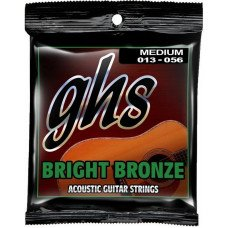 GHS Strings Bright Bronze Set