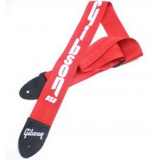 Gibson ASGSBU-20 Gibson USA Style 2 Safety Strap - Ferrari Red