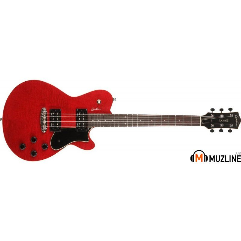 Электрогитара Godin Core Trans Red RN HB with Bag