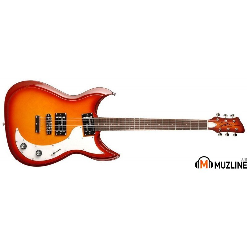 Электрогитара Godin Dorchester Cherry Burst HG RN with Bag