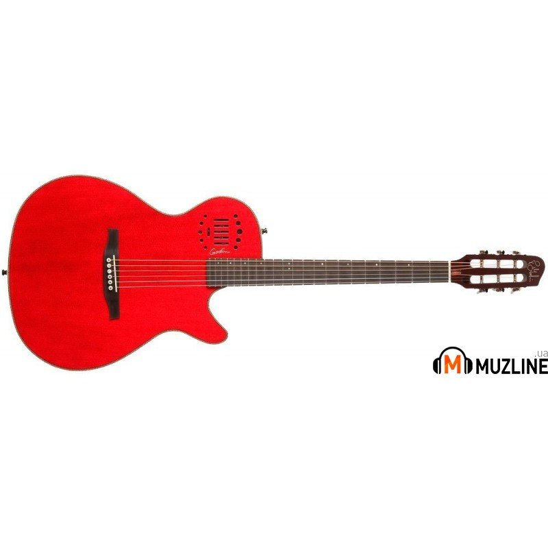 Электроакустическая гитара Godin Multiac Steel Duet Ambiance Red HG with Bag