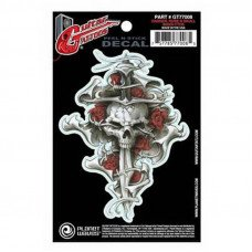 Planet Waves GT77008 Guitar Tatoo, Dagger Rose Skull