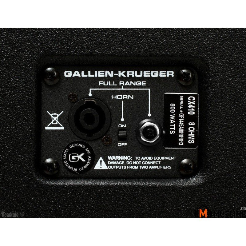 Gallien-Krueger CX410