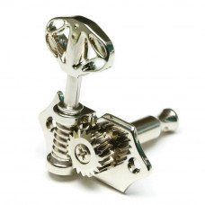 Аксессуар гитары Graph Tech PRN-3411-C0 Acoustic 3+3 Skeleton Button Nickel