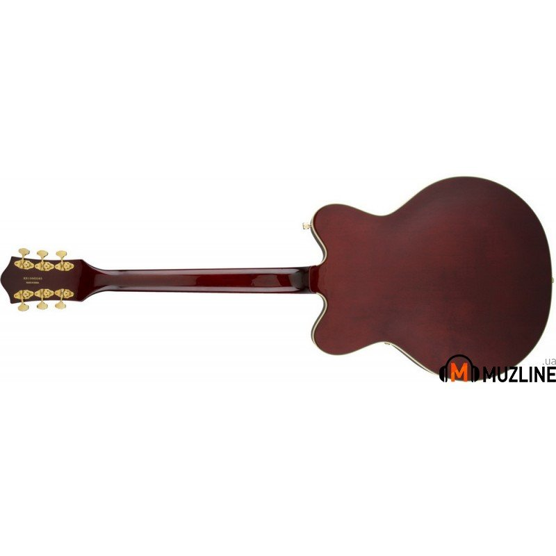 Электрогитара Gretsch G5422TG Electromatic Hollow Body Double Cut Walnut Stain Gold Hardware