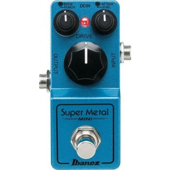 Гитарная педаль Ibanez SM Mini Super Metal Distortion Pedal