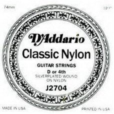 D'Addario J2704 Classics Silver (4-яструна) D Normal Tension