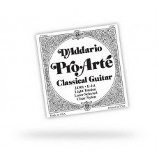 D'Addario J4504 Pro-Arte Silver Nylon (4-я струна) D Normal Tension