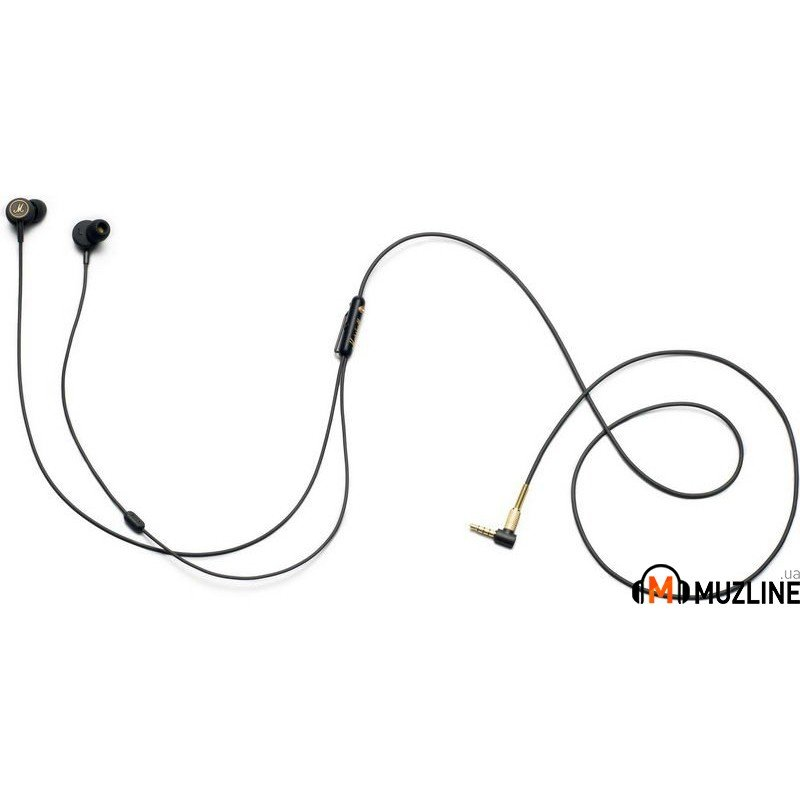 Наушники вкладыши Marshall Mode EQ Headphones Black & Gold