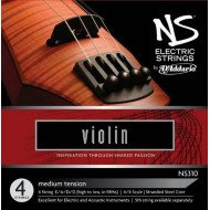 Струны для скрипки D'Addario NS315 NS Electric Violin Low C 4/4