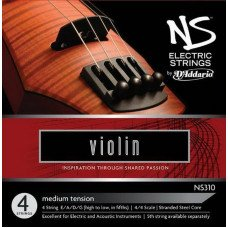 D'Addario NS315 NS Electric Violin Low C 4/4