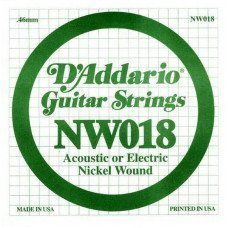 D'Addario NW018 XL Nickel Wound 018