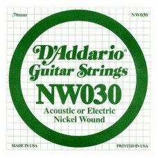 D'Addario NW030 XL Nickel Wound 030