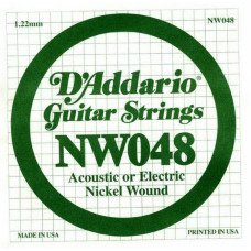 D'Addario NW048 XL Nickel Wound 048