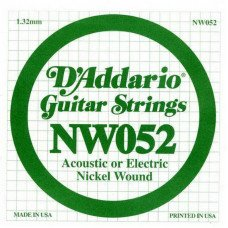 D'Addario NW052 XL Nickel Wound 052
