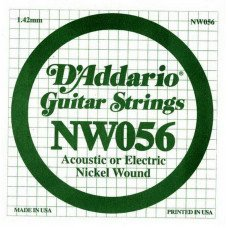 D'Addario NW056 XL Nickel Wound 056