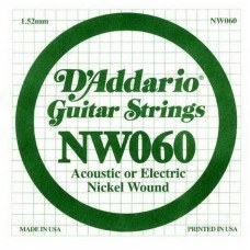 D'Addario NW060 XL Nickel Wound 060