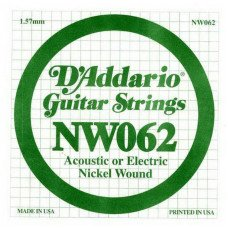 D'Addario NW062 XL Nickel Wound 062