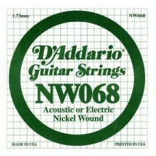 D'Addario NW068 XL Nickel Wound 068