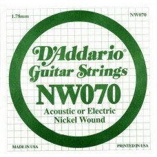 D'Addario NW070 XL Nickel Wound 070