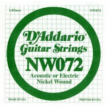 D'Addario NW072 XL Nickel Wound 072
