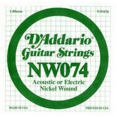 D'Addario NW074 XL Nickel Wound 074