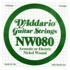 D'Addario NW080 XL Nickel Wound 080