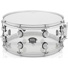 Малый барабан Natal Drums Arcadia Acrylic Snare Drum Transparent