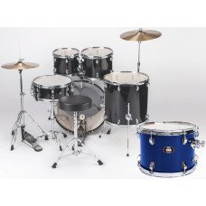 Natal Drums DNA US Fusion Drum Kit Blue Hardware Pack