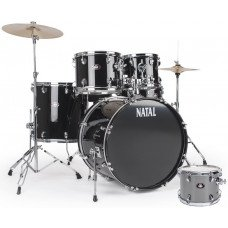 Ударная установка Natal Drums DNA US Fusion Drum Kit Silver Hardware Pack