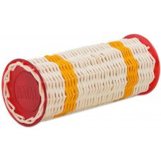 Natal Drums Ganza Large Yellow Band Red Ends
