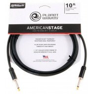 Инструментальный кабель Jack - Jack Planet Waves PW-AMSG-10 American Stage 10Ft