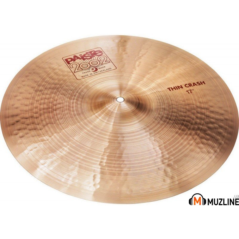 Crash Paiste 2002 Thin Crash 17""