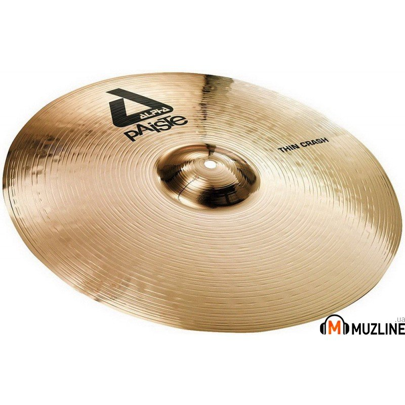 Crash Paiste Alpha Brilliant Thin Crash 17""