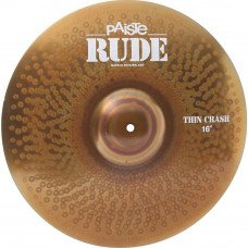 Crash Paiste RUDE Thin Crash 16""