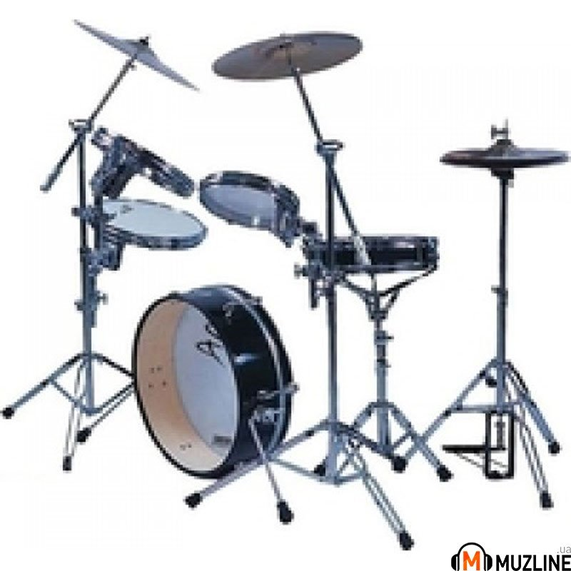 Ударная установка Performance Percussion PP-800BLK Slim Line