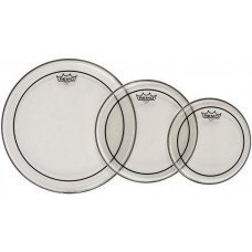 """Remo Tom Pack (10"""",12"""",16"""" Clear PS) Export Only"""