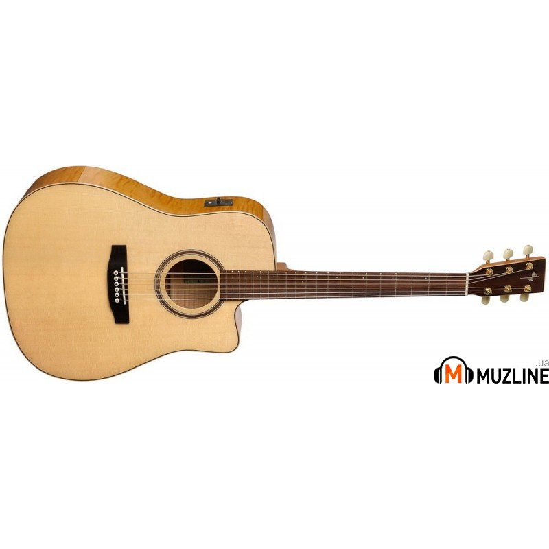 Электроакустическая гитара S&P Showcase CW Flame Maple A6T with DLX Tric