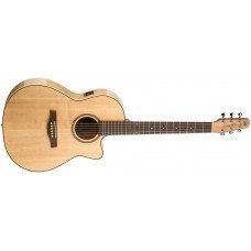Электроакустическая гитара Seagull Performer CW Folk Flame Maple HG QIT with Bag