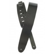 Planet Waves PW25BL00 Basic Classic Leather Guitar Strap, Black