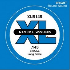 D'Addario XLB145 XL Nickel Round Wound Single 145 (одна струна)