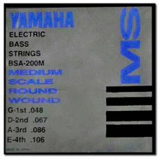 Yamaha BSA200M Bass Stainless Steel 48-106