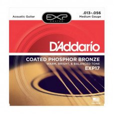 D'Addario EXP17 Phosphor Bronze Light 13-56