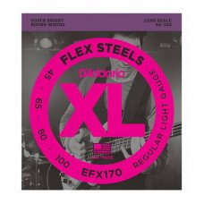 D'Addario EFX170 XL Flex Steels Light 45-100
