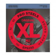 D'Addario EPS230 XL Pro Steels Bass Heavy 55-110