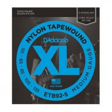D'Addario ETB92-5 XL Nylon Tapewound 5 String Bass 50-135