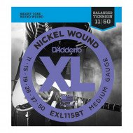 D'Addario EXL115Bt Xl Nickel Balanced Tension, Medium 11-50